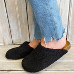 C&A Furry Slipper-blk