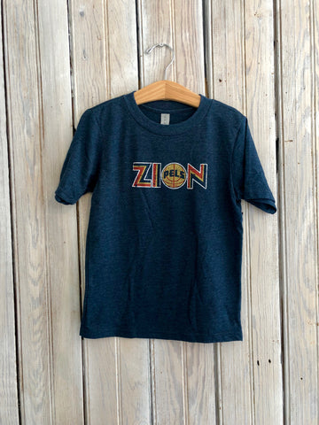 Zion Kid's Tee (Grey)