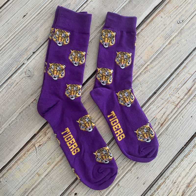 Socks- LSU Tigers