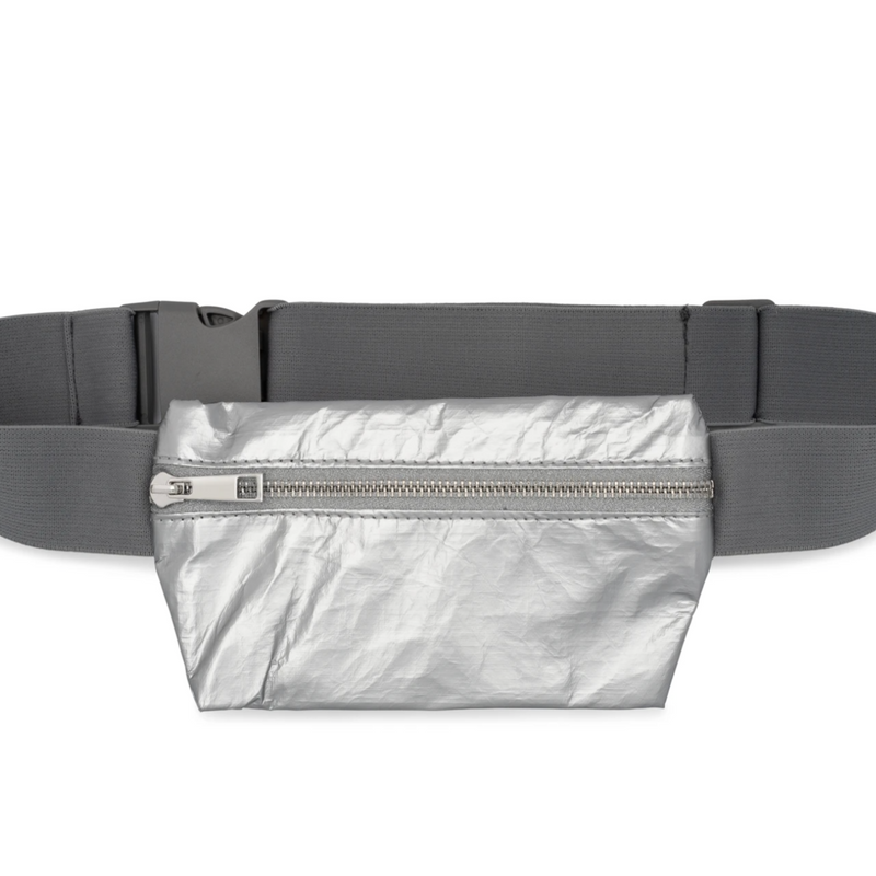 HiLove Fanny Pack- Silver