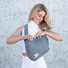 HiLove Crossbody Backpack- Gray