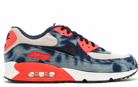 "Nike Air Max 90 ""Infrared Washed Denim"", Sneakers, Nike - SNEAKER OVEN"