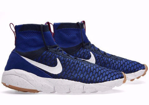 "Nike Air Footscape Magista Flyknit ""Blue"", Sneakers, Nike - SNEAKER OVEN"