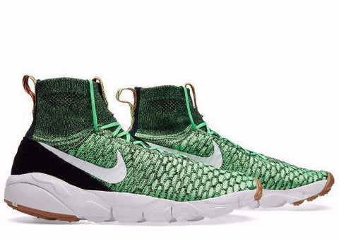 "Nike Air Footscape Magista Flyknit ""Green"", Sneakers, Nike - SNEAKER OVEN"