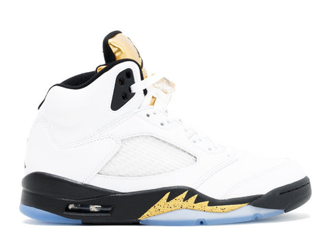 "Air Jordan 5 Retro ""Olympic Gold "", Sneakers, Air Jordan - SNEAKER OVEN"