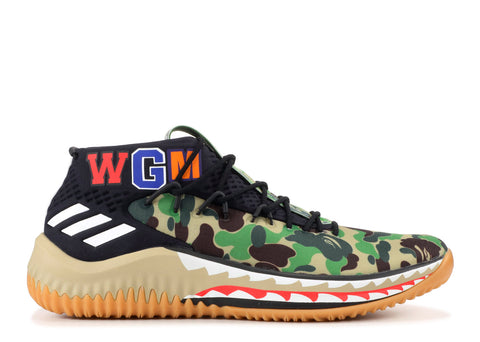 the best attitude 60311 36bf8 Adidas DAME 4 BAPE