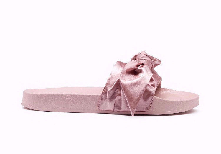 pretty nice acbc1 1ca4f Fenty By Rihanna X Puma Bow Slide Sandals