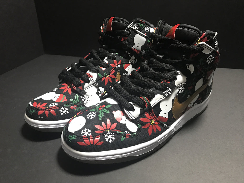 "Nike Dunk High SB ""Ugly Christmas Sweater"", Consignment, Nike - SNEAKER OVEN"