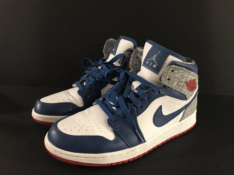 "Air Jordan 1 "" True Blue"", Consignment, Air Jordan - SNEAKER OVEN"