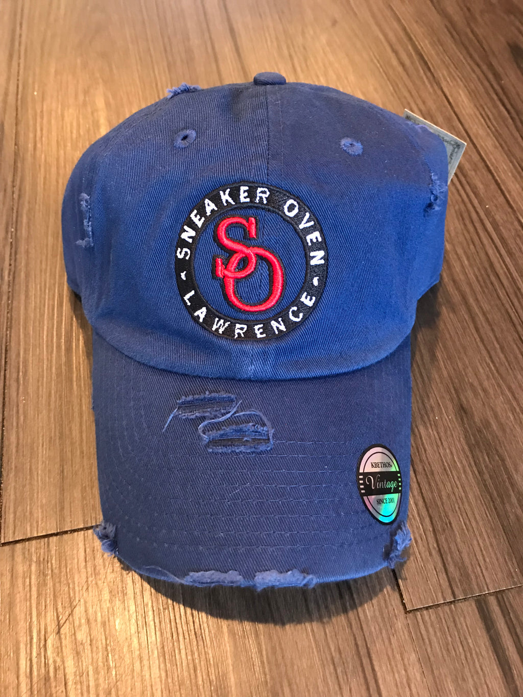 Sneaker Oven Distressed Dad Hat