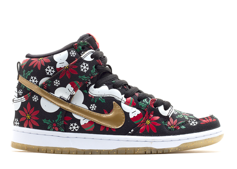 "Nike Dunk High SB ""Ugly Christmas Sweater"", Sneakers, Nike - SNEAKER OVEN"