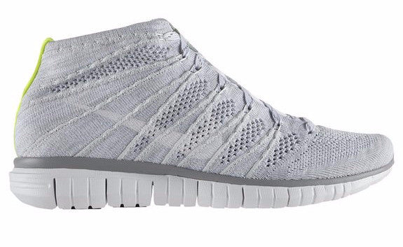 womens nike free flyknit chukka running shoes