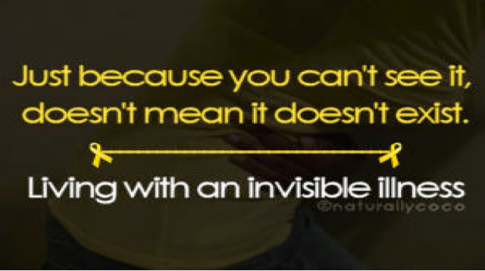 Invisible Illness! Don't Believe Me Until My Bones Are Already Broken...