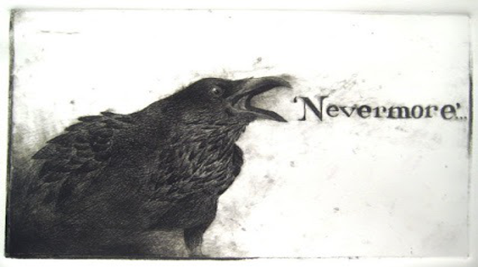 The Raven Screamed… Nevermore!