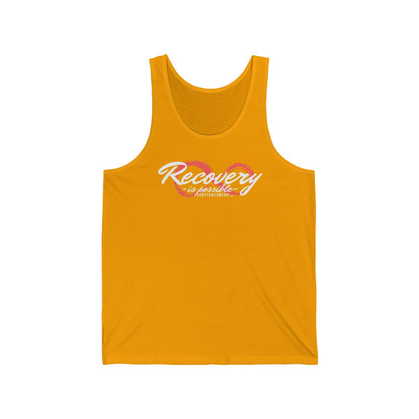 Recovery is Possible - SubstanceForYou.com, Tank Top - SubstanceForYou.com, SubstanceForYou.com - SubstanceForYou.com