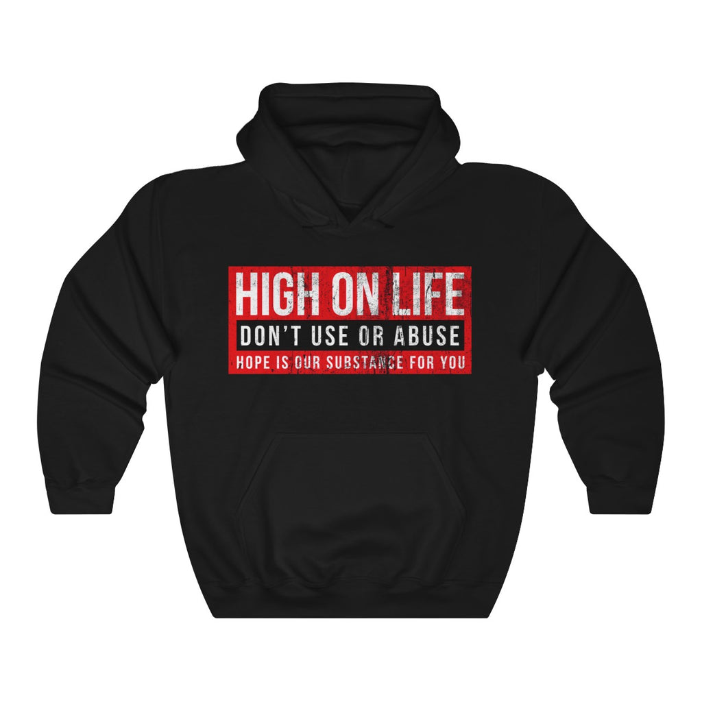 High on Life - SubstanceForYou.com, Hoodie - SubstanceForYou.com, SubstanceForYou.com - SubstanceForYou.com