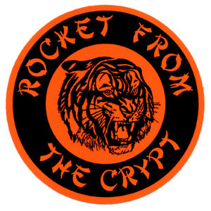 Orange Tiger Sticker