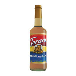 Torani  362016  Honey Vanilla Syrup (SET OF 12 PER CASE)