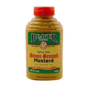 Beaverton Foods  278  Beaver Stone Ground Mustard (SET OF 6 PER CASE)