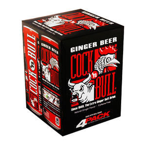 Seven-Up Bottling Co  059190  Cock n' Bull Ginger Beer Can (SET OF 24 PER CASE)