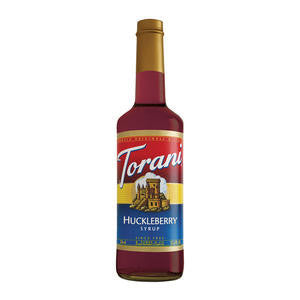 Torani  606271  Huckleberry Syrup PET (SET OF 4 PER CASE)