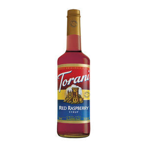 Torani  605571  Red Raspberry Dairy Friendly Syrup PET (SET OF 4 PER CASE)