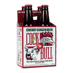 Seven-Up Bottling Co  182190  Cock n' Bull Cherry Ginger Beer Bottle (SET OF 24 PER CASE)