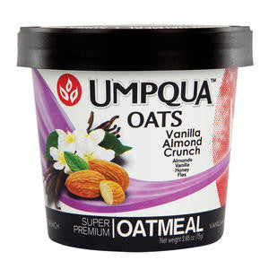 Umpqua Oats  1233VA  Vanilla Almond Crunch (SET OF 12 PER CASE)