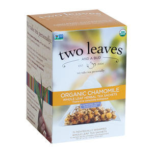 Two Leaves Tea Company  T01115  Organic Chamomile (SET OF 6 PER CASE)