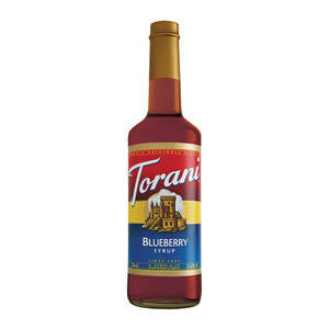 Torani  361354  Blueberry Syrup (SET OF 12 PER CASE)