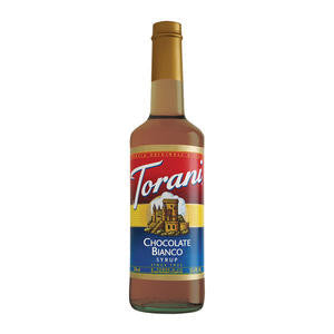 Torani  361477  Chocolate Bianco (White Chocolate) Syrup (SET OF 12 PER CASE)