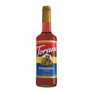 Torani  362702  Strawberry Syrup (SET OF 12 PER CASE)