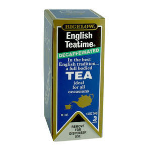 R C Bigelow Inc  10357  Bigelow English Teatime Tea Decaffeinated (SET OF 168 PER CASE)