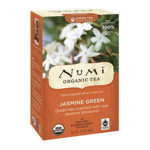 Numi  101089  Numi Jasmine Green Tea (SET OF 108 PER CASE)