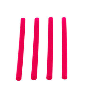 WNA  F600R  Fat Straw Red 6'' (SET OF 2400 PER CASE)