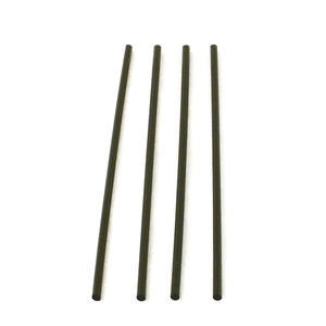 WNA  S800BK  Slim Straw Black 8'' (SET OF 10000 PER CASE)