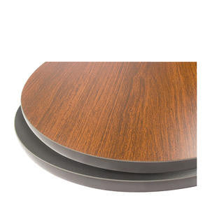 Oak Street Manufacturing  24RNDMB  Table Top Round Mahogany Black 24'' (1 EACH)