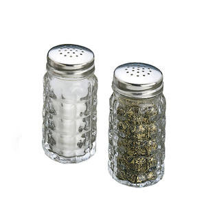 Tablecraft  C163-12  Nostalgia Salt and Pepper Shaker 1.5 oz (SET OF 48 PER CASE)