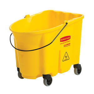 Rubbermaid Commercial  FG757088YEL  WaveBrake Bucket Yellow 35 qt (1 EACH)