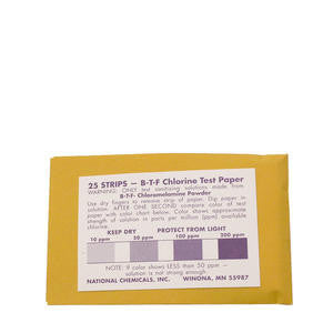National Chemicals  99301  Chlorine Tester Strip (SET OF 25 PER CASE)