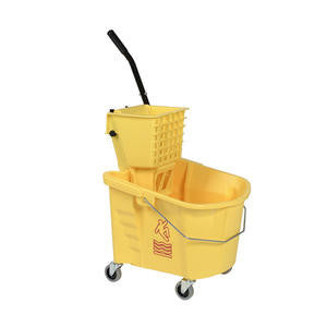 Continental Mfg Company  226-312YW  Splash Guard Bucket/Wringer Combo Yellow 26 qt (1 EACH)