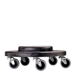Rubbermaid Commercial  FG264000BLA  BRUTE Dolly Black (SET OF 2 PER CASE)
