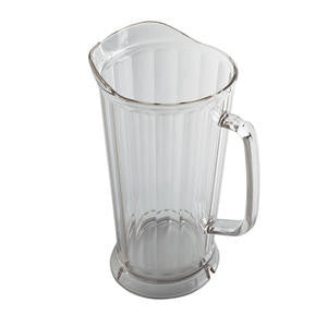 Cambro Manufacturing  P64CW135  Camwear Pitcher with Ice Lip Clear 64 oz (1 EACH)