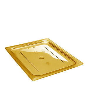 Cambro Manufacturing  20HPC150  H-Pan Cover Half Size Amber (1 EACH)
