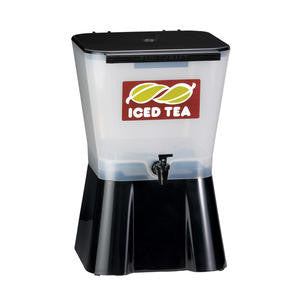 Tablecraft  953  Iced Tea Dispenser White/Black 3 gal (1 EACH)