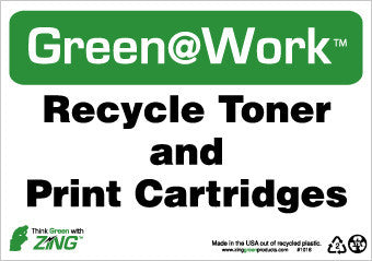 NMC GW1016-RECYCLE TONER AND PRINT CARTRIDGES, 7X10, RECYCLE PLASTIC (1 EACH)