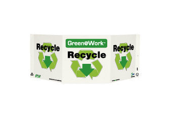 NMC GW3039-TRI-VIEW, RECYCLE, 7.5X20, RECYCLE PLASTIC (1 EACH)