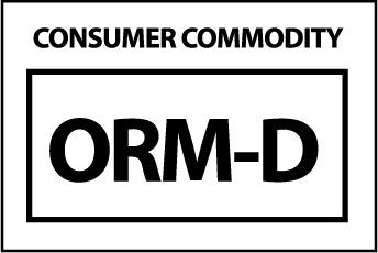 NMC HW26-LABELS, COMSUMER COMMODITY ORM-D, 1 1/2X2 1/4, PS PAPER (1 ROLL)