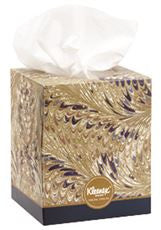 Kimberly-Clark 21270 KLEENEX BOUTIQUE TISSUE FACIAL 2PLY DECORATIVE WHITE (36 PER CASE)