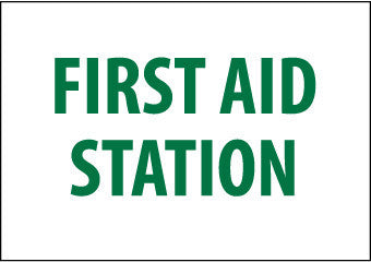 NMC M442R-FIRST AID STATION, 7X10, RIGID PLASTIC (1 EACH)